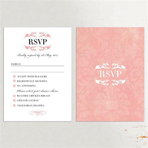 wedding invitation charming wedding rsvp cards