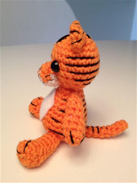 ravelry amigurumi tiger pattern  justyna kacprzak