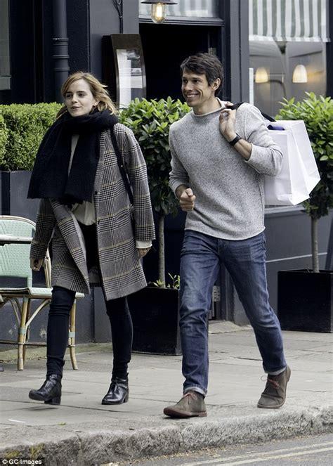 Emma Watson Steps Out London With Boyfriend William