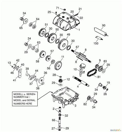 Wolfgarten Cart Ohv 2 6190000 Series B (1999) Gearbox