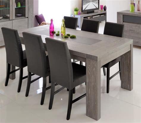 brunswick modern extending dining table in grey oak