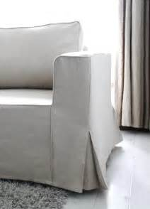 sofa covers fit linen manstad sofa slipcovers now available