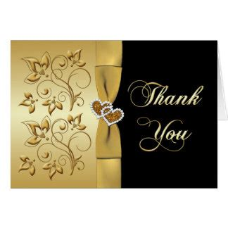 50th Wedding Anniversary Thank You Cards Zazzle