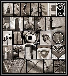 Digital photo alphabet for Photo alphabet letters
