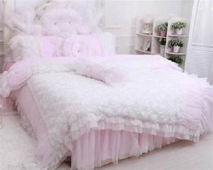 FADFAY Home TextileBeautiful Korean Rose Bedding Sets