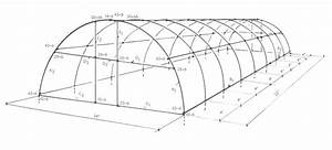 Parts And Diagram That Describe The Construction Of A Quonset Style Greenhouse Built With Pipe