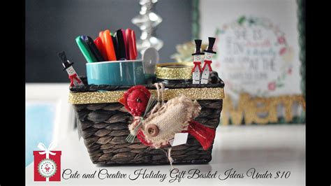 diy christmas gifts cute creative holiday gift baskets