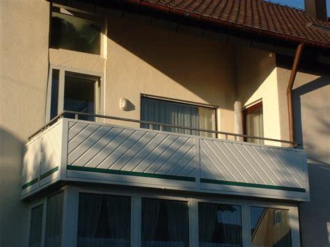 sichtschutz für balkongeländer balkon zaun profi leibhammer rietz gmbh aluminium eloxierung balkongel 228 nder
