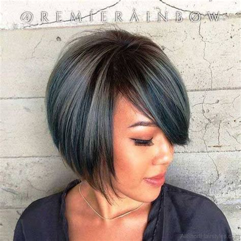 Bob Hairstyle With Side Fringe by 57 Cool Bob Hairstyle With Side Swept Bands