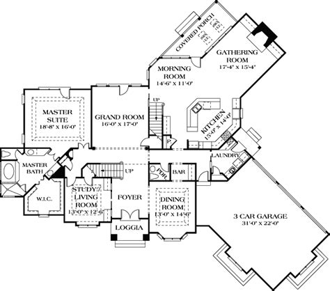 mediterranean house plan  bedrooms  bath  sq ft plan