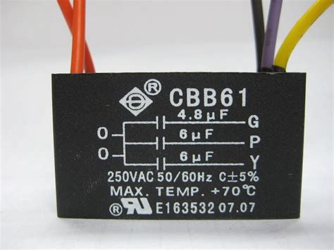 high quality lowest priced ceiling fan capacitors  ac
