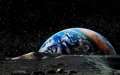 Astronomy Earth Space Moon Universe Landscape Planet