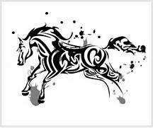 horse tribal by chrono...