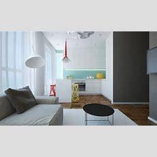 Modern Small Apartment Design In Bulgaria  Adorable Home