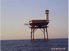 Frying Pan Shoals Light Tower Our State NC Pinterest