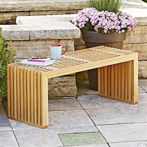 seasons bench woodworking plan  wood magazine