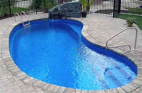 picture of pools what is the price for kidney inground fiberglass pool