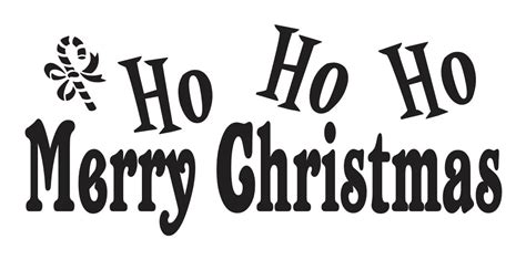primitive metal christmas signs with cut your own trees primitive stencilho ho ho merry