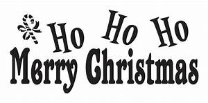 Primitive christmas holiday stencilho ho ho merry for Merry christmas letter stencils