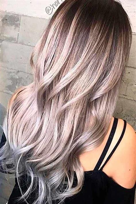 tendance couleur cheveux 2018 nouvelle tendance coiffures pour femme 2017 2018 60 id 233 es les plus populaires pour la