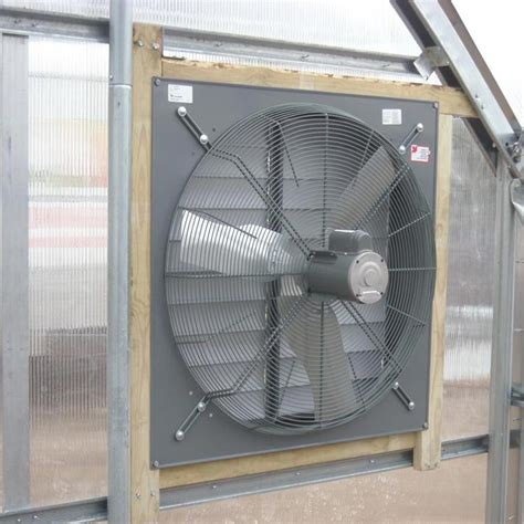 exhaust fan with shutter exhaust fan with plastic louver shutter 30 quot farmtek