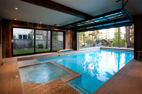 Lake Tahoe Dream Home   Rustic   Pool   san francisco   by
