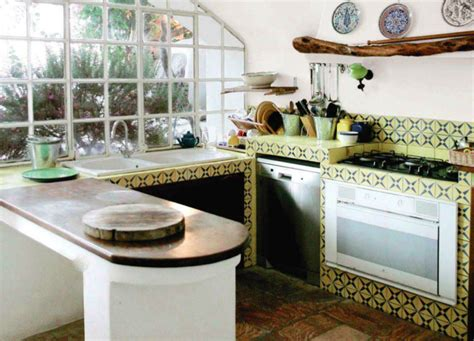 Mediterranean Kitchen Tiles  Tile Design Ideas