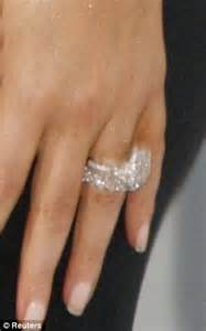 How Does Kim Kardashian39s Ring Measure Up In Celebrity