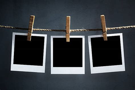 hanging photos polaroid pictures images and stock photos istock