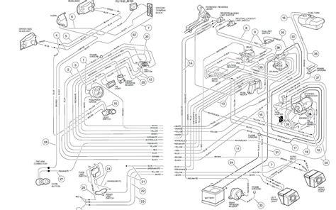 1999 electric club car wiring diagram wiring diagram and