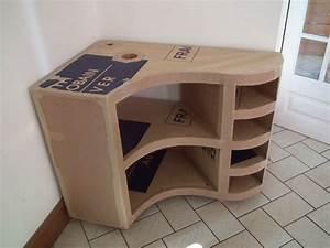 Meuble Vasque Angle : meuble de salle de bain en carton partie 1 carton et plus ~ Teatrodelosmanantiales.com Idées de Décoration
