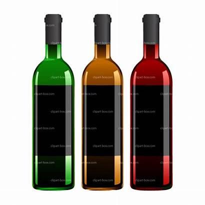 Wine Clipart Bottle Bottles Clip Cliparts Vector