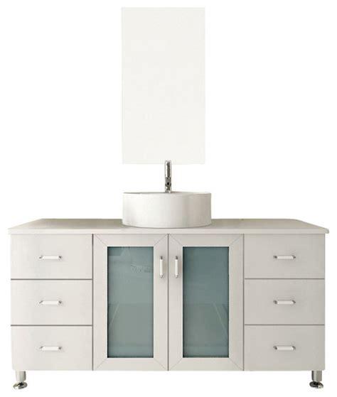 transitional bathroom vanity cabinets grand lune white single vessel sink modern bathroom vanity