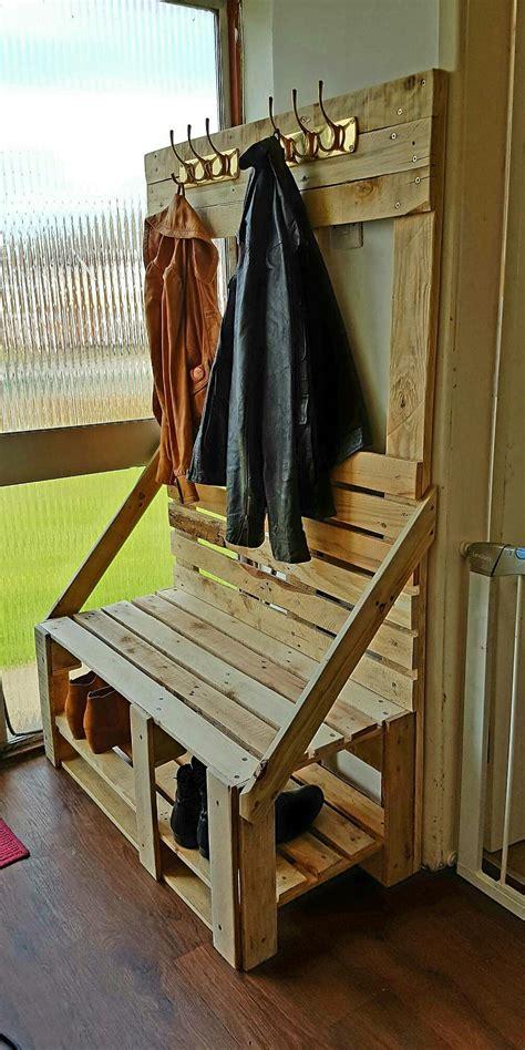 diy coat rack bench coat and shoe rack diy cosmecol