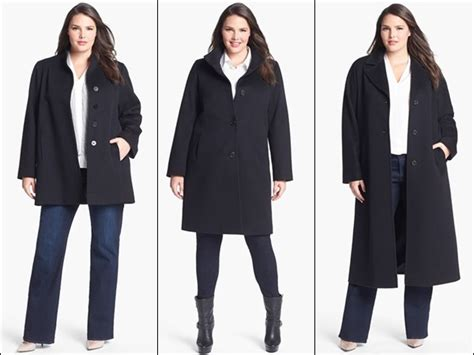 10 Best Plus Size Winter Looks Images On How To Wear Plus Size Coats Fit And Fabulous Part 2