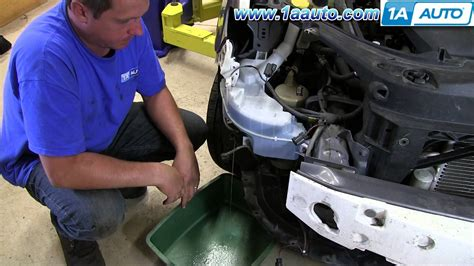 nissan altima sport 2012 how to install replace leaking windshield washer reservoir
