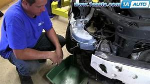 How To Install Replace Leaking Windshield Washer Reservoir