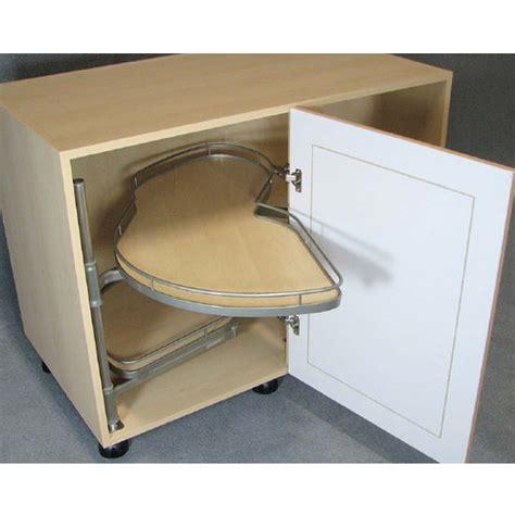 kitchen corner cabinet organizers lemans ii kitchen blind base corner organizers by hafele