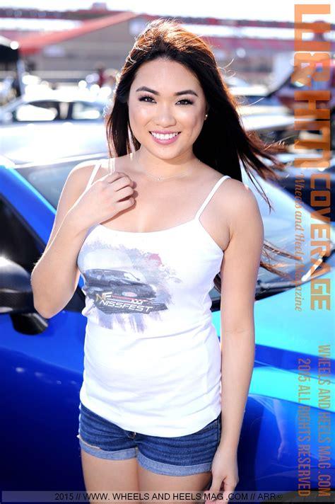 Wandhm Wheels And Heels Magazine Sweet Cover Model Sandra Wong At Nissfest Fontana 2015