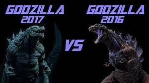 GODZILLA 2017 VS GODZILLA 2016 TOY BATTLE - YouTube