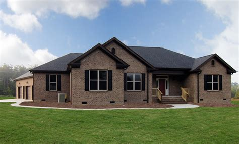 5 bedroom house plans with bonus room one brick homes raleigh transitional exterior