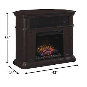 electric fireplace media center ideas