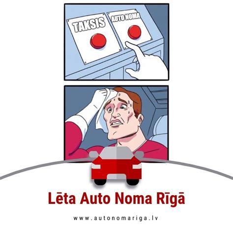 Lēta auto noma Rīgā - Autonomariga.lv - Home | Facebook