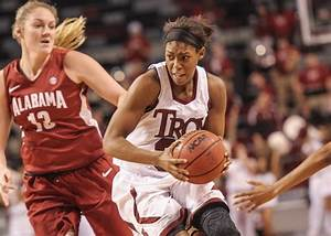 Troy falls to Alabama in women's basketball | University ...