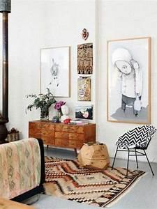 les tapis modernes 45 idees interessantes pour decorer With tapis chambre bébé avec bac fleur interieur