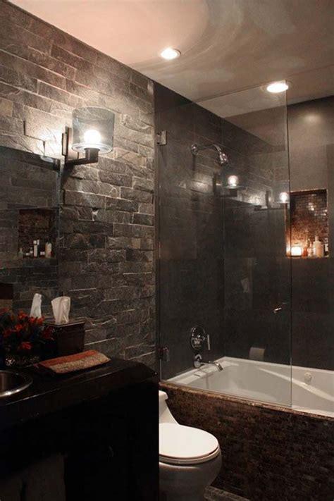 alluring dark bathroom designs     world