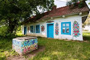 Is this the most beautiful village in Poland? The painted