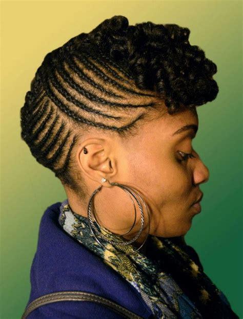 black braid updo hairstyles