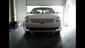 Hid Projector Retro Fitted Headlights  2007 Nissan Altima