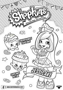Shoppies S Hopkins Club Coloring Pages Chef